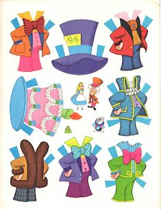 This set is based on Disney's Alice in Wonderland animated movie which was derived from a book of the same name writt...
