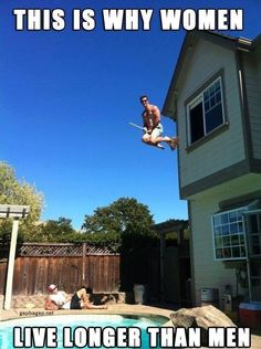 Funny Meme About This is Why Women Live Longer Than Men