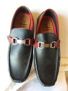 bd2d70eed0fe Details about Moderno Premium Collection Loafers - New - Size 8 (fits Size  9 Men's) Black