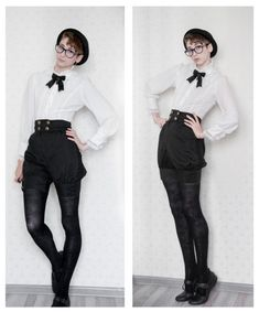 Black and White fashion short hair ouji ootd lolita fashion japanese street fash. - - Black and White fashion short hair ouji ootd lolita fashion japanese street fashion JSF kodona chloravirgophotos Straight Hairstyles for You 2019 Stra. Moda Lolita, Lolita Mode, Korean Fashion Trends, Japanese Street Fashion, Mode Queer, Androgynous Fashion, Queer Fashion, Androgyny, Korea Fashion