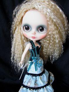 Custom Mohair Blythe Doll