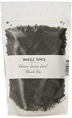 Whole Spice Black Tea China Loose Leaf, 4 Ounce by Wholespice -- Awesome products selected by Anna Churchill