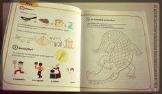 Livres activités enfants - Les jeux de Kimamila - Au pays des praraons Editions Nathan