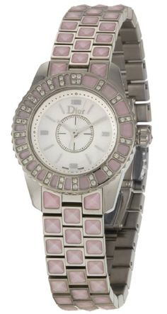 Christian Dior Women's CD112111M002 Christal Stainless-Steel Bracelet Watch: Watches