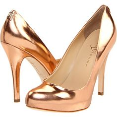Ivanka Trumps Pumps from Zappos Rose Gold #blush #rosegold