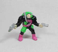 Trash Bag Bunch - 14 Janitax - Mini Figure - Galoob 1991 - 2.25  Tall