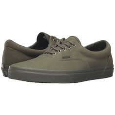 size 40 123bd 8fa44 Vans Era ((Gold Mono) Ivy Green) Skate Shoes ( 50) ❤ liked on Polyvore  featuring shoes, sneakers, vans sneakers, green shoes, laced shoes, vans  trainers ...