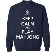 Keep Calm And Play Mahjong T-Shirt
