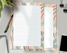 Letter Stationery, Korean Stationery, Cute Stationery, Writing Paper, Letter Writing, Letter To Yourself, Minimalist Chic, Graph Paper, Planner Inserts