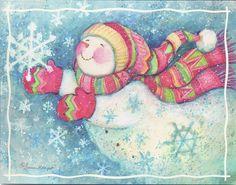 Snowman & Snowflakes