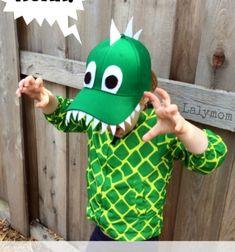 DIY Dinosaur hat - easy costume for kids // Dinoszaurusz (dinó) maszk baseball sapkából gyerekeknek // Mindy - craft tutorial collection // #crafts #DIY #craftTutorial #tutorial