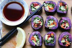 Sweet Potato Sushi!