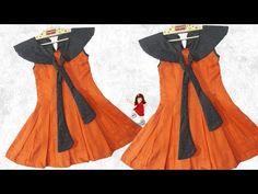New baby dress crochet simple 63 ideas Baby Frock Pattern, Frock Patterns, Crochet Skirt Pattern, Baby Dress Patterns, Knitting Patterns, Frocks For Babies, Baby Girl Frocks, Frocks For Girls, Kids Frocks Design
