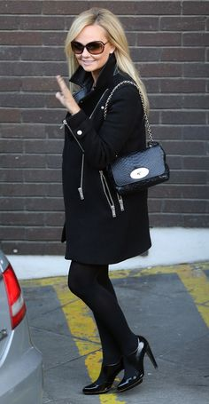 SPOTTED! Emma Bunton's Mulberry Lily handbag