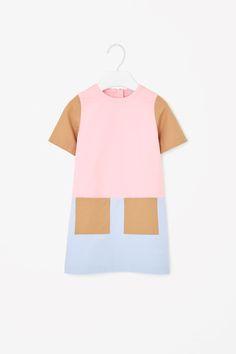 COS | Block-colour cotton dress