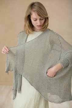 Knitting Jacket handmade knitted cardigan sweater by Toosha, $185.00