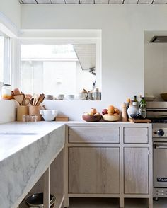 Marble counter heaven in a kitchen by Scott and Scott Architects kitchen design interiors marble counters