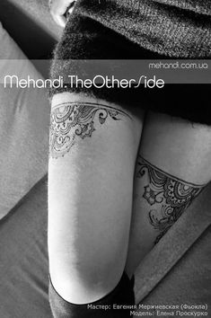 15 Sexiest Thigh Tattoos For Women