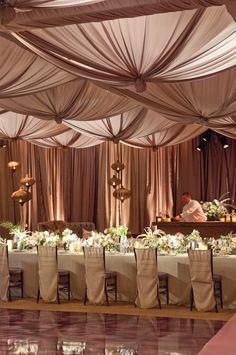 Chic and Elegant #Wedding #Reception Ideas. To see more: http://www.modwedding.com/2013/11/11/chic-elegant-wedding-reception-ideas/ #weddingcenterpiece ideas.