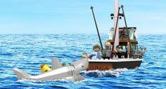 ToyzMag.com » Les Dents de la mer en LEGO ?