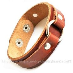 Jewelry bangle leather bracelet fashion by jewelrybraceletcuff, $8.98