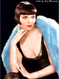 Louise Brooks color late 1920's