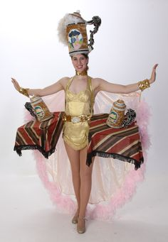 Beer Stein Showgirl Costumes - The Producers Theatre Rental from $39-53 per costume