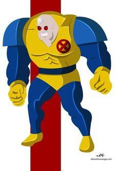 Strong Guy (Marvel) by FeydRautha81