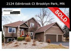 Just Sold in Brooklyn Park! If you're thinking of buying or selling a home in the Twin Cities area, contact us today to set up a free consultation! info@necklenoakland.com 763.657.0198