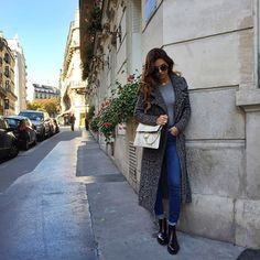 Casual in Paris before shooting the entire day with @grazia_nl and @bydanienl.