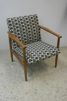 #verhoilu #tuoli #50-luku #villakangas #verhoomo