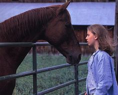 The Horse Whisperer is a 1998 American drama film directed by and starring Robert Redford, based on the 1995 novel of the same name by Nicholas Evans. Robert Redford, She Movie, Movie Tv, Scarlett Johansson, Nicholas Evans, The Horse Whisperer, If Rudyard Kipling, Romantic Movies, Music Film