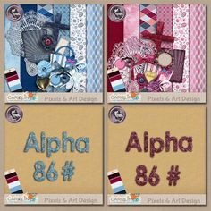 Barbara Bundle $10.99  Red or Blue mood for Barbara ? You have the choice ! Included in this Bundle, the Barbara Blue, the Barbara Red and the matching 2 monograms : - 12 papers - 29 elements. - 2 alphas (170 characters). Take advantage of the Bundle special price !
