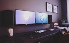 + blat, ściana, podwieszany monitor
