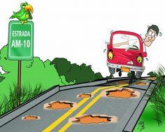Estrada, por Júnior Lima.