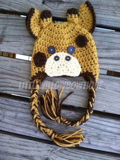 Crochet giraffe hat giraffe hat crochet by littlewillowbowtique