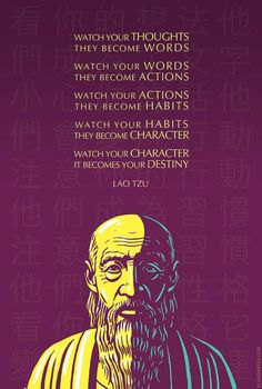Lao Tzu Inspirational Quote: Achte auf deine Gedanken Kunstdruck von elvindantes Lao Tzu Inspirational Quote: Watch your thoughts Art Print by elvindantes Lao Tzu quote: Watch your thoughts Fandango Fandango - Hot Girls Lao Tzu Quotes, Motivacional Quotes, Great Quotes, Inspirational Quotes, Taoism Quotes, Famous Quotes, Yoda Quotes, Peace Quotes, Daily Quotes