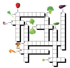 Les légumes French Worksheets, Core French, Teaching French, Activity Games, Crossword, Learn To Read, Education, Delaware, School