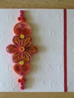 Quilling Ideas: August 2008
