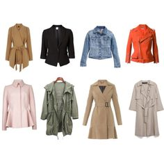 Designer Clothes, Shoes & Bags for Women Capsule Wardrobe, Shoe Bag, Coat, Jackets, Stuff To Buy, Shopping, Collection, Design, Women