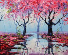 Spring-Splendor-Painting-by-Graham-Gercken.jpg (900×729)