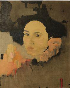 dalila dalleas bouzar (oil on canvas)