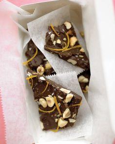 Chocolate-Orange Hazelnut Bark