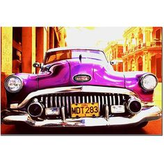 This ready to hang, gallery-wrapped art piece features a 1952 Buick Special Sedan. Masters Fine Art is a company that travels around the world to bring the best in fine art from outstanding artists fr