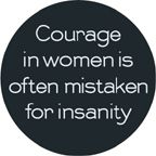 courage, women, quote