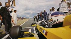 Alain Prost - Renault RE30 - 1981 - French GP