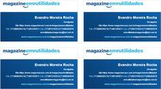 Parceria Com o Magazine Luíza no Projeto Magazine Você, o Magazine Emrutilidades vem para trazer as melhores ofertas com garantia, segurança, facilidade! Venha nos fazer um visita. Acesse: https://www.magazinevoce.com.br/magazineemrutilidades/