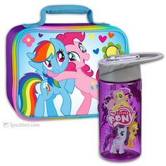 My Little Pony Lunchbox with Thermos Bottle
