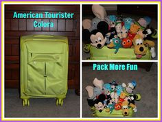 Disney Babies Blog: American Tourister Colora - My New Travel Must Have #Spon