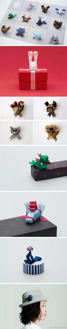 Animal ribbons. ^__^